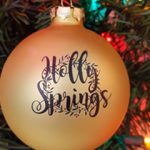 Holly Springs Christmas Ornaments